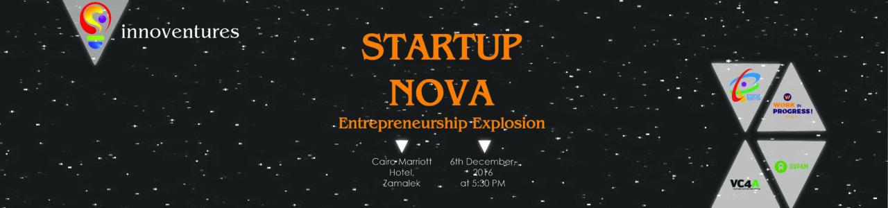 Startup NOVA: Entrepreneurship Explosion