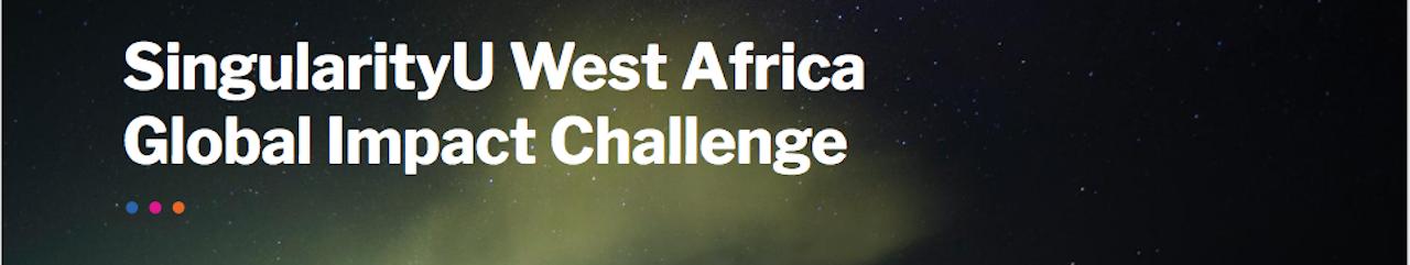 2017 SingularityU West Africa Global Impact Challenge