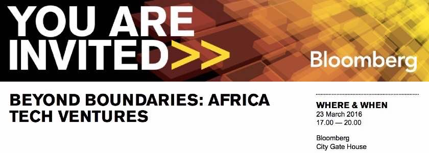 Beyond Boundaries: Africa Tech Ventures showcase with Bloomberg