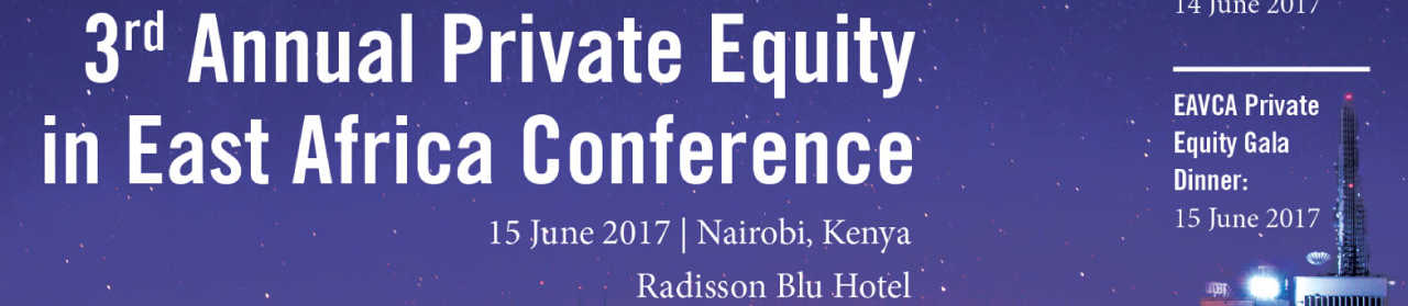 Private Equity in East Africa Conference 2017