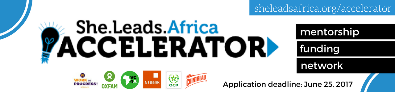She Leads Africa Accelerator 2017