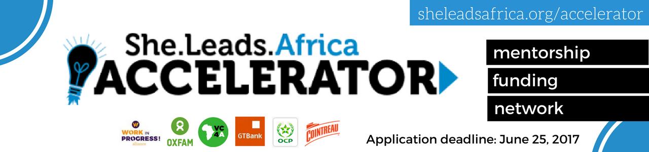 She Leads Africa Accelerator 2017