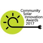 Community Solar Innovation Awards 2017