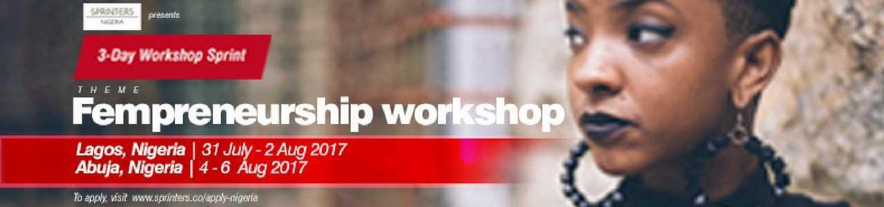 The Sprinters 3-Day Fempreneurship Workshop