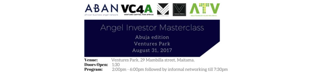 Angel Investor Masterclass Abuja
