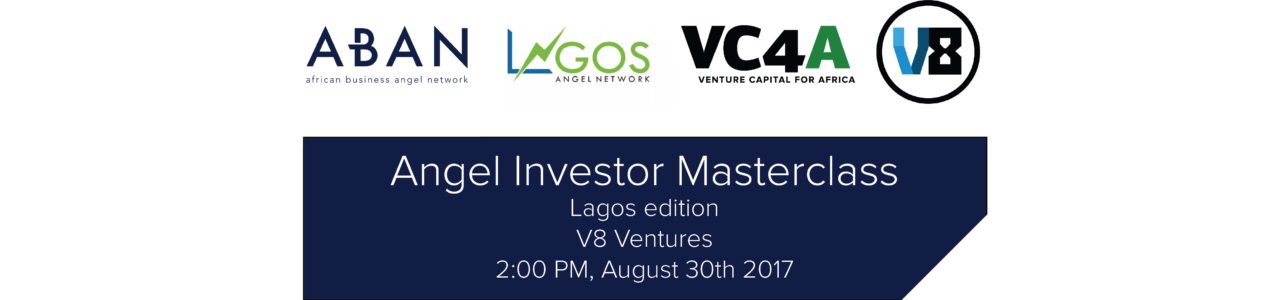 Angel Investor Masterclass Lagos