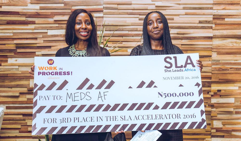 SLA Accelerator 2016 cohort winner Medsaf