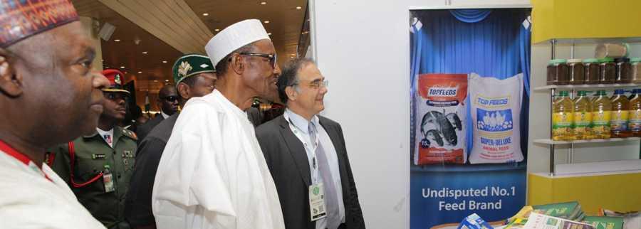 President Buhari at NES