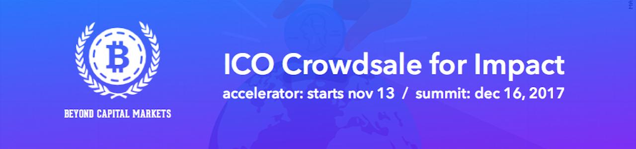 ICO crowdsale for Impact VIRTUAL Accelerator