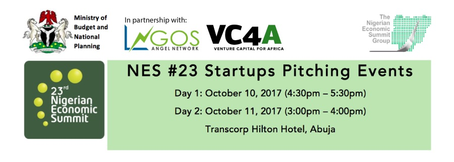 Announcing the 8 startups selected to pitch at Nigerian Economic Summit #23