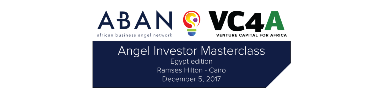 ANGEL INVESTOR MASTERCLASS CAIRO 2017