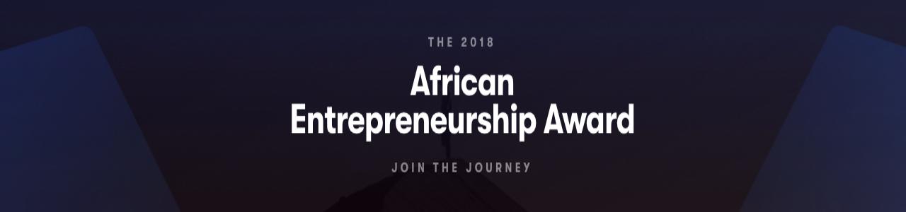 2018 African Entrepreneurship Award