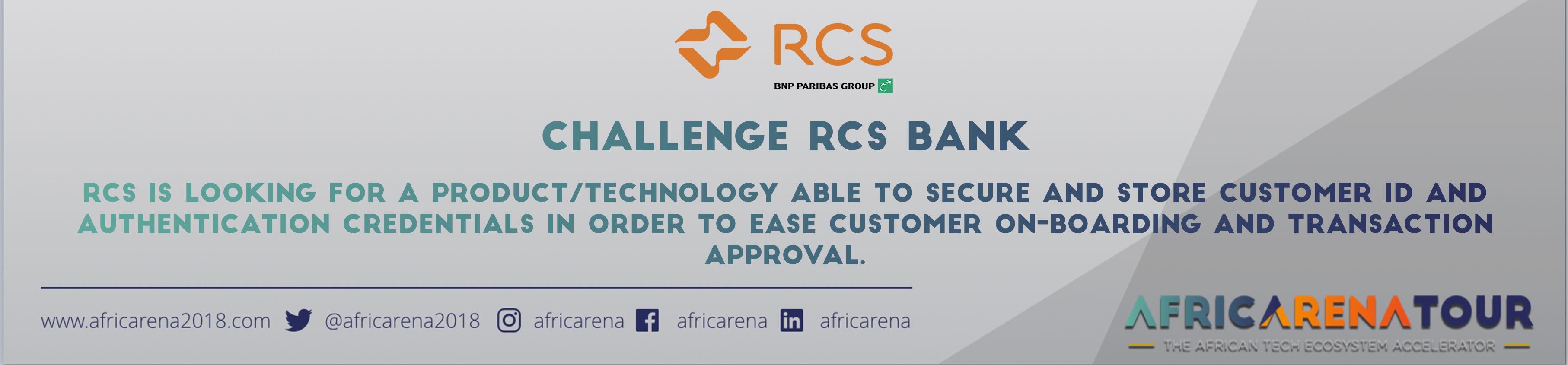 RCS Bank Challenge