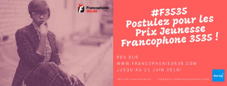 Prix Jeunesse de la Francophonie 35.35