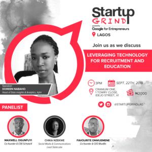 Startup Grind hosts EdTech Themed Meetup