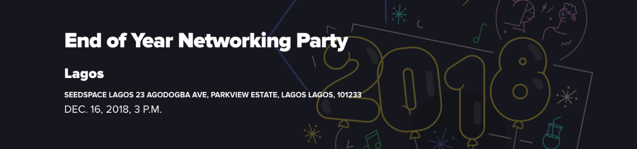 Startup Grind Lagos Hosts End of the Year Networking Party