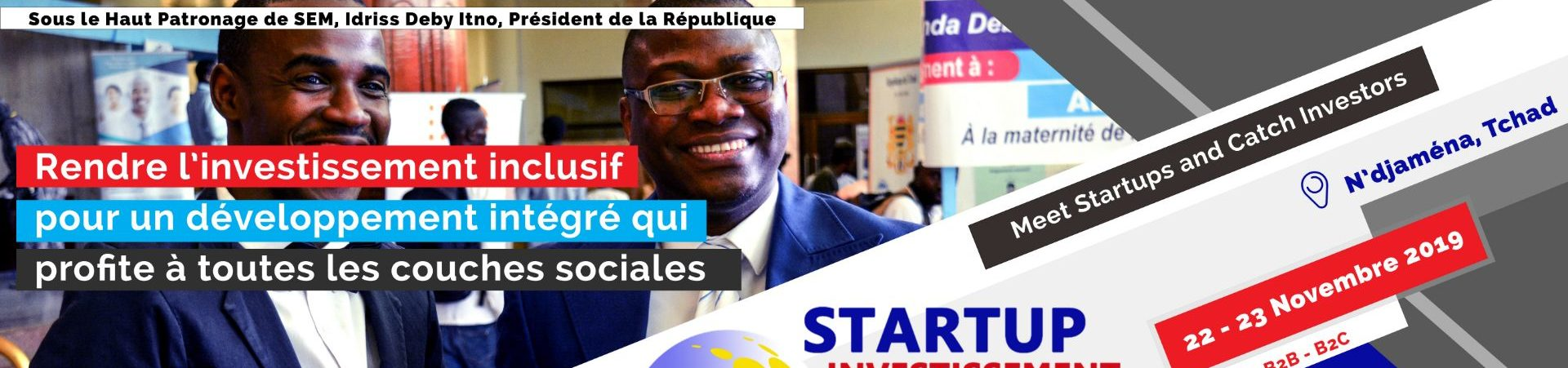 Startups and Investment Forum – Chad 2019