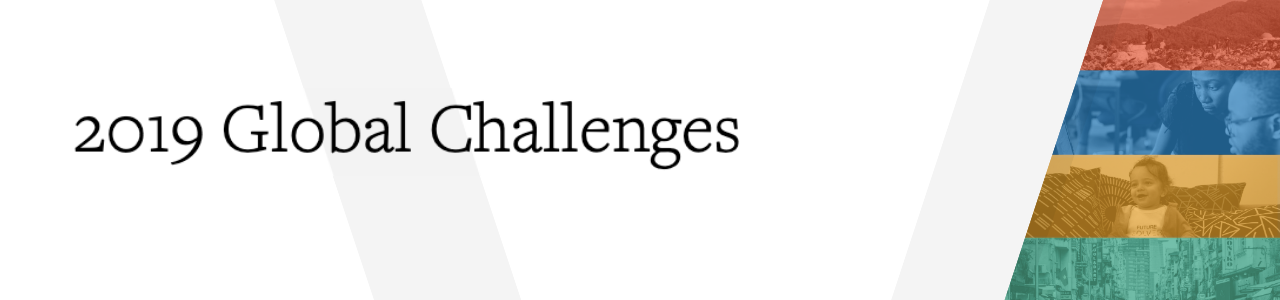 Solve's Global Challenges 2019