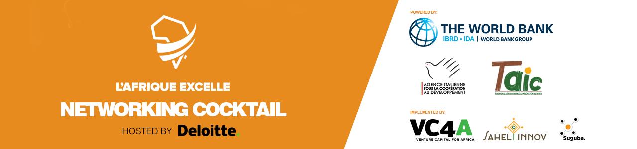 Networking cocktail L'Afrique Excelle/ Deloitte/ VC4A/ WBG