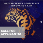 Innovation Fair – Oxford Africa Conference