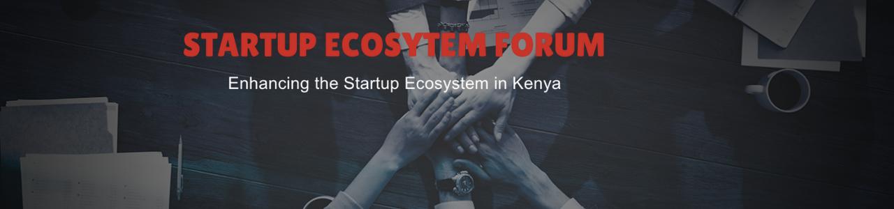 Startup Ecosystem Forum