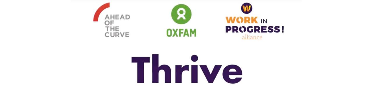Oxfam Thrive Program 2019