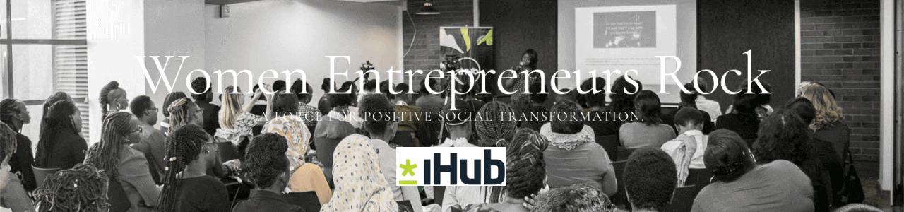 iHub Women In Business Program