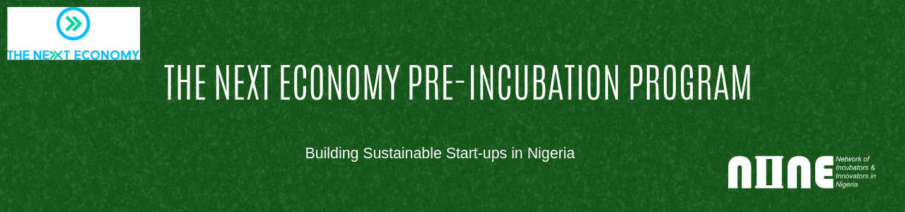 The Next Economy- NINE Pre-Incubation Program