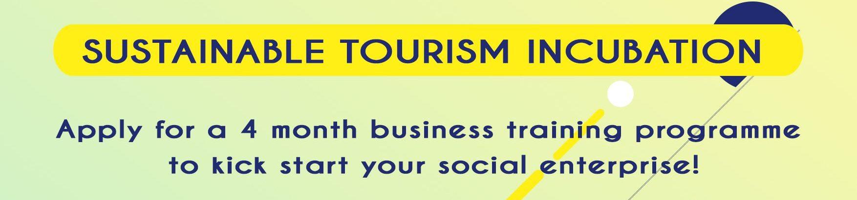 Sustainable Tourism Incubation Program
