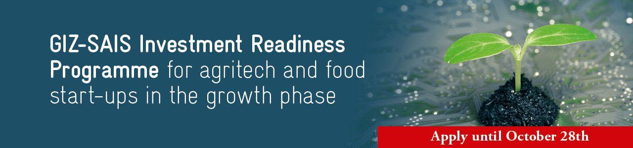 GIZ-SAIS Investment Readiness Programme