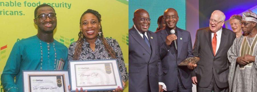 Young entrepreneurs from Botswana & Ghana win GoGettaz Agripreneur Prize 2019