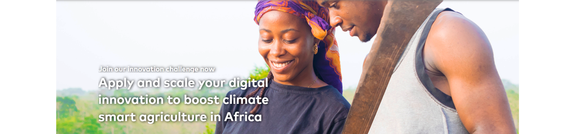 Digital Innovation Challenge for Agriculture in Africa