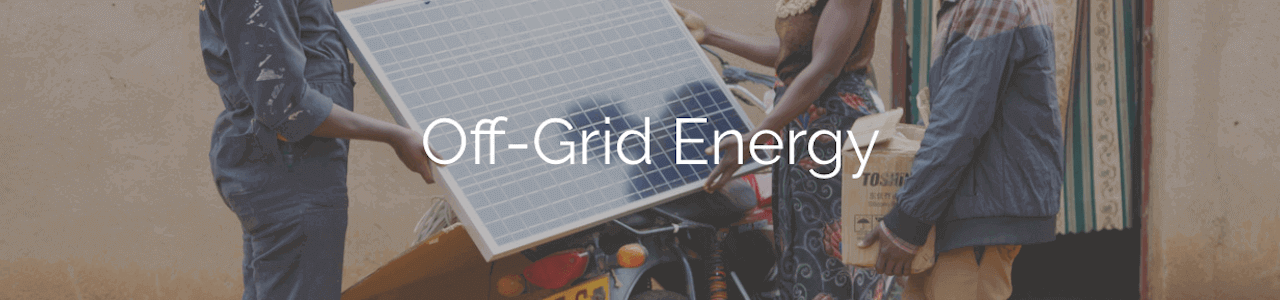 Nigeria Off-Grid Energy Challenge