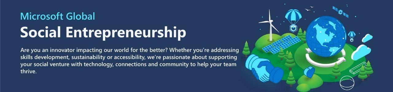 Microsoft Global Social Entrepreneurship Program