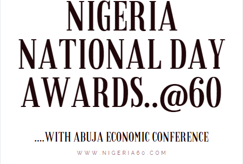 NIGERIA NATIONAL DAY AWARDS 2020