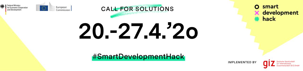 #SmartDevelopmentHack