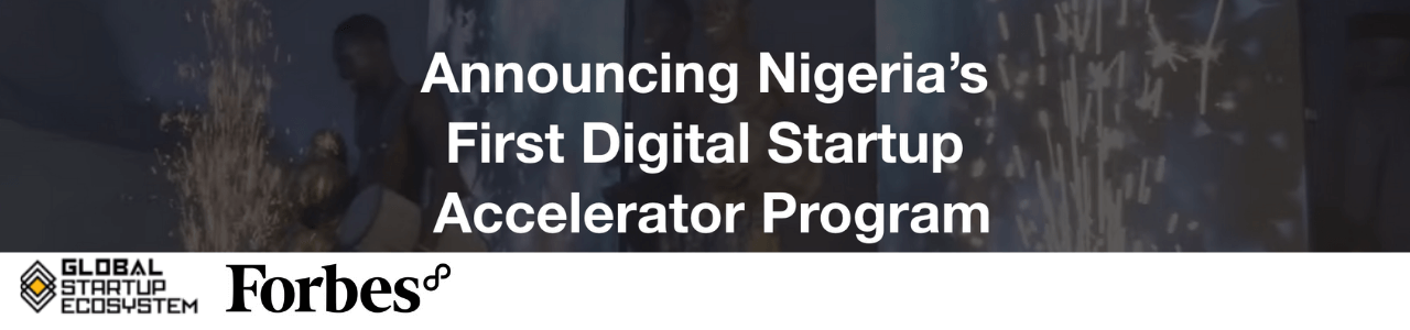 Digital Startup Accelerator 2020 by Forbes8
