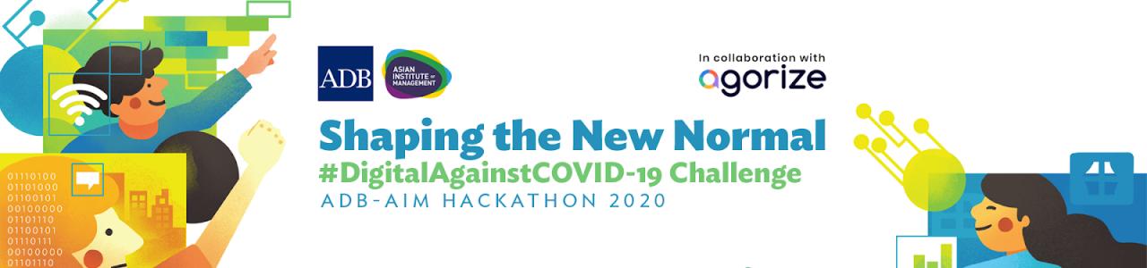 ADB-AIM Hackathon 2020: Shaping the New Normal