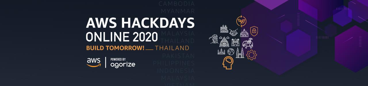 AWS Hackdays Online 2020 – Thailand