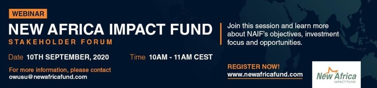 New Africa Impact Fund Stakeholder Forum
