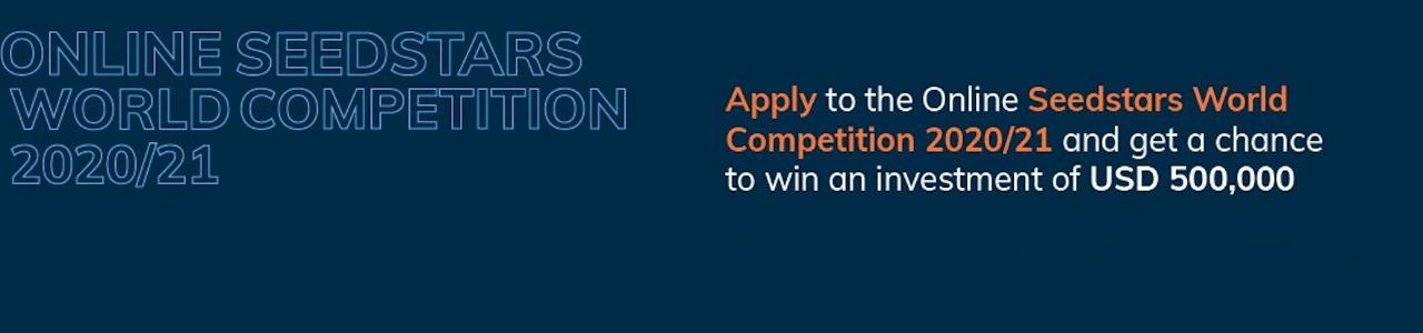 Online Seedstars World Competition 2020/21