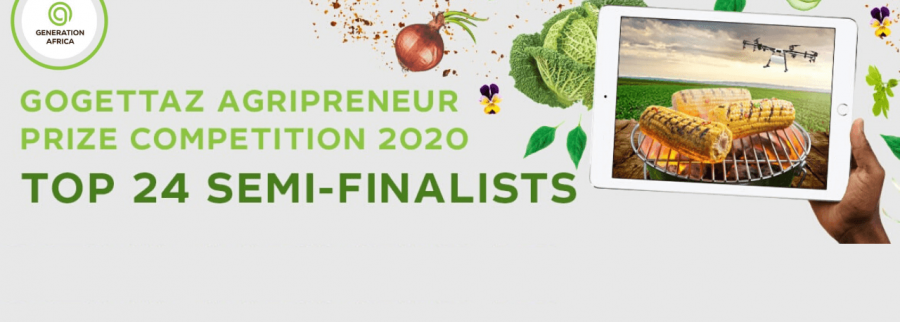 Generation Africa announces Top 24 semi-finalists in second annual US $100,000 GoGettaz Agripreneur Prize Competition