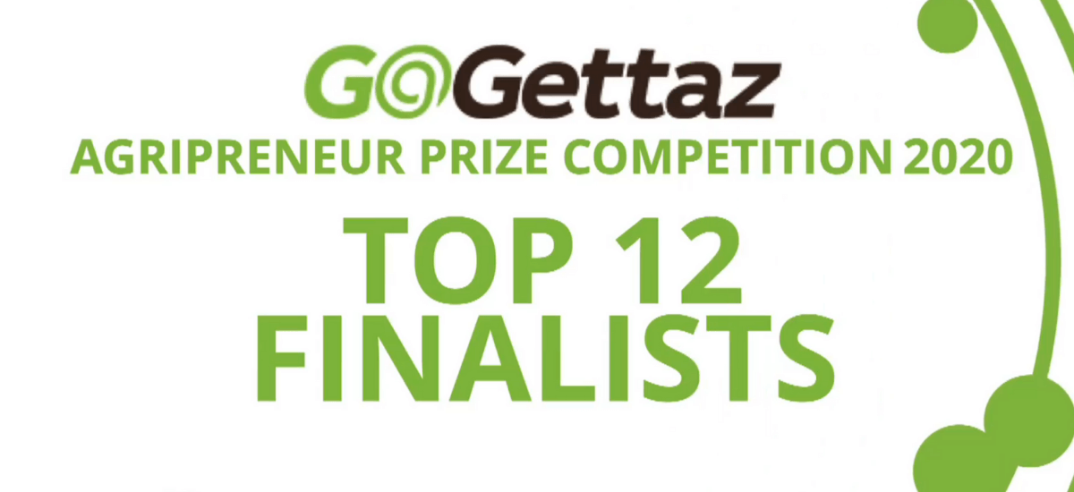 Meet the 12 finalists of the GoGettaz Agripreneur Prize Competition 2020