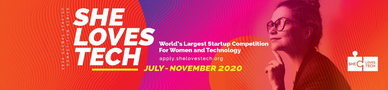 She Loves Tech Global Startup Competition