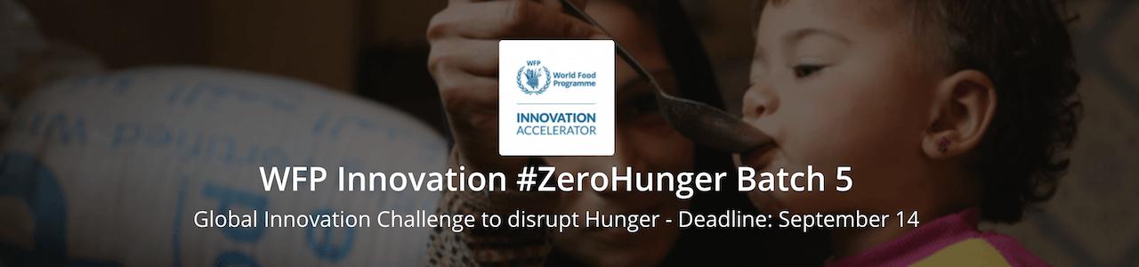 WFP Innovation Challenge 2020