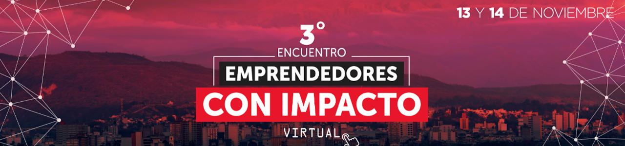 3° Encuentro de Emprendedores con Impacto del NOA