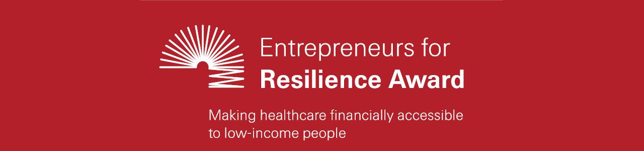 Entrepreneurs for Resilience Award 2021