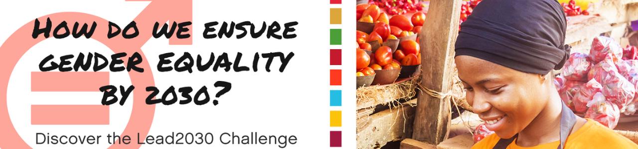Lead2030 Challenge for SDG5