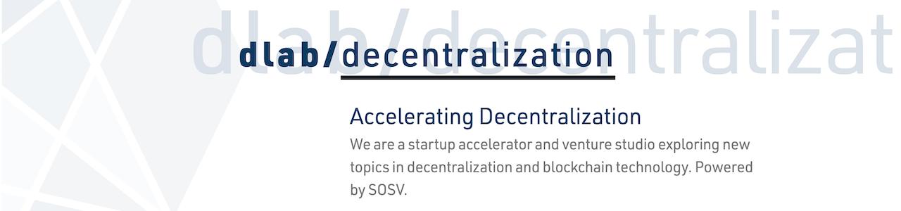 dlab / decentralization