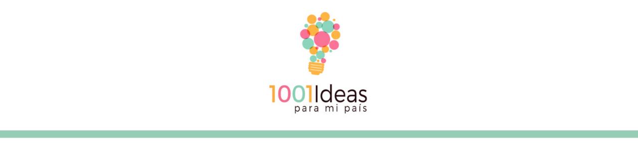 1001 Ideas Para Mi País